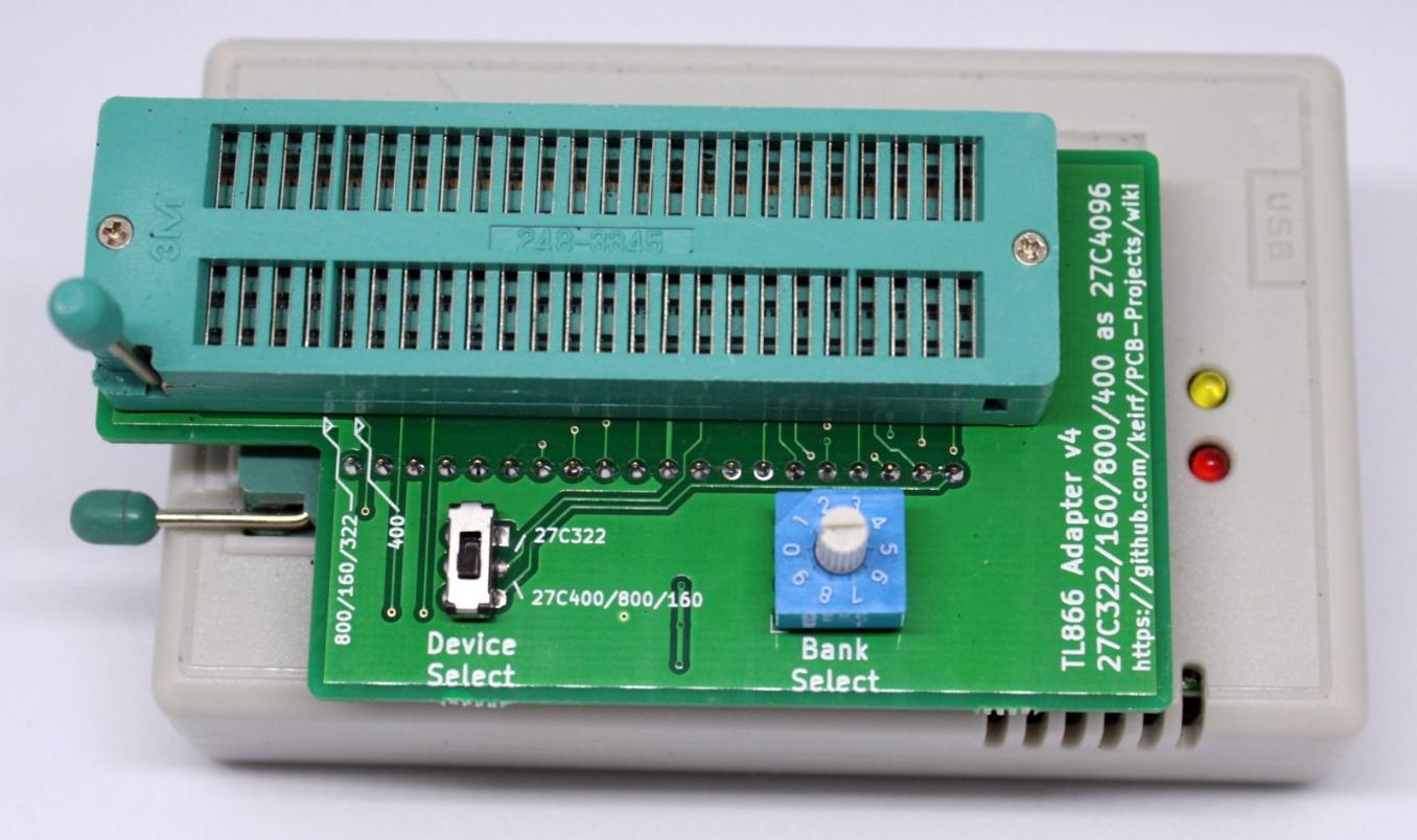 27C4096->322/160/800/400 Adaptor v4