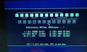 Pasted into Amiga 600 – Blue screen